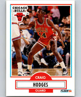 1990-91 Fleer #25 Craig Hodges Bulls NBA Basketball