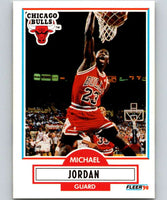 1990-91 Fleer #26 Michael Jordan Bulls NBA Basketball