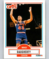 1990-91 Fleer #31 Brad Daugherty Cavaliers NBA Basketball