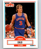 1990-91 Fleer #32 Craig Ehlo Cavaliers NBA Basketball