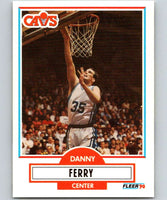 1990-91 Fleer #33 Danny Ferry RC Rookie Cavaliers NBA Basketball