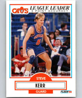 1990-91 Fleer #34 Steve Kerr Cavaliers NBA Basketball