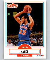 1990-91 Fleer #35 Larry Nance Cavaliers NBA Basketball