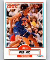 1990-91 Fleer #37 Hot Rod Williams Cavaliers NBA Basketball