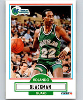 1990-91 Fleer #38 Rolando Blackman Mavericks NBA Basketball