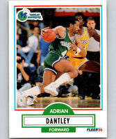 1990-91 Fleer #39 Adrian Dantley Mavericks  NBA Basketball