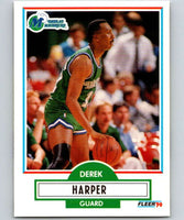 1990-91 Fleer #42 Derek Harper Mavericks NBA Basketball