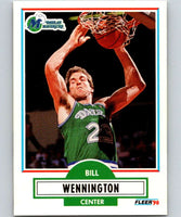 1990-91 Fleer #44 Bill Wennington Mavericks NBA Basketball