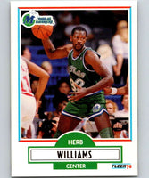 1990-91 Fleer #45 Herb Williams Mavericks NBA Basketball