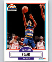 1990-91 Fleer #46 Michael Adams Nuggets NBA Basketball