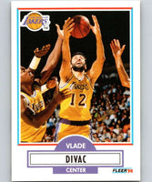 1990-91 Fleer #91 Vlade Divac RC Rookie Lakers NBA Basketball