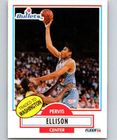 1990-91 Fleer #164 Pervis Ellison RC Rookie Bullets NBA Basketball