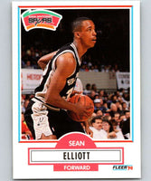 1990-91 Fleer #171 Sean Elliott RC Rookie Spurs NBA Basketball