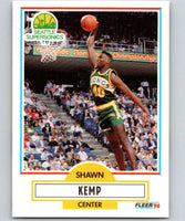 1990-91 Fleer #178 Shawn Kemp RC Rookie NBA Basketball