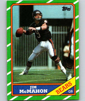 1986 Topps #10 Jim McMahon Bears NFL Football