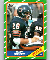 1986 Topps #12 Matt Suhey Bears NFL Football