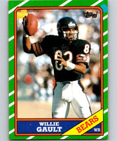1986 Topps #13 Willie Gault Bears NFL Football
