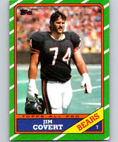 1986 Topps #16 Jim Covert Bears NFL Football