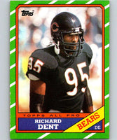 1986 Topps #19 Richard Dent Bears NFL Football