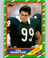 1986 Topps #22 Dan Hampton Bears NFL Football