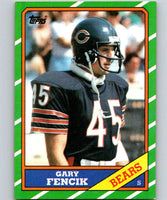 1986 Topps #28 Gary Fencik Bears NFL Football