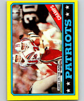 1986 Topps #29 Craig James Patriots TL NFL Football