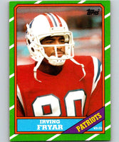1986 Topps #34 Irving Fryar Patriots NFL Football