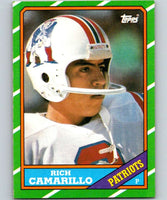 1986 Topps #43 Rich Camarillo Patriots NFL Football
