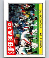 1987 Topps #1 Super Bowl XXI NY Giants NFL Football