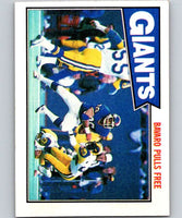 1987 Topps #9 Mark Bavaro NY Giants TL NFL Football