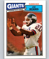 1987 Topps #11 Joe Morris NY Giants NFL Football