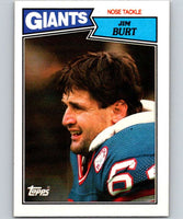 1987 Topps #22 Jim Burt NY Giants NFL Football
