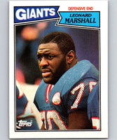 1987 Topps #23 Leonard Marshall NY Giants NFL Football