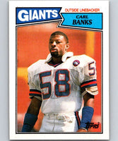 1987 Topps #24 Carl Banks NY Giants NFL Football