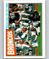 1987 Topps #30 Gerald Willhite Broncos TL NFL Football
