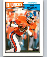 1987 Topps #41 Mike Harden Broncos NFL Football