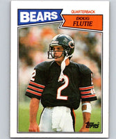 1987 Topps #45 Doug Flutie RC Rookie Bears NFL Football
