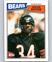 1987 Topps #46 Walter Payton Bears NFL Football