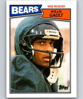 1987 Topps #48 Willie Gault Bears NFL Football