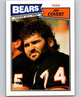 1987 Topps #51 Jim Covert Bears NFL Football