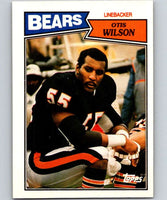 1987 Topps #57 Otis Wilson Bears NFL Football