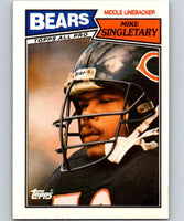 1987 Topps #58 Mike Singletary Bears NFL Football