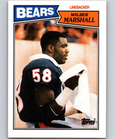 1987 Topps #59 Wilber Marshall Bears NFL Football