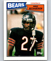 1987 Topps #60 Mike Richardson Bears NFL Football