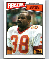 1987 Topps #65 George Rogers Redskins NFL Football