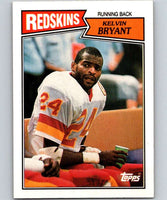 1987 Topps #66 Kelvin Bryant RC Rookie Redskins NFL Football