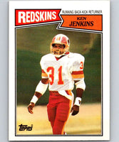 1987 Topps #67 Ken Jenkins Redskins NFL Football