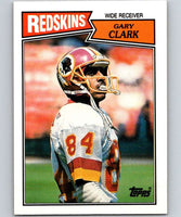 1987 Topps #68 Gary Clark Redskins NFL Football