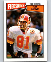 1987 Topps #69 Art Monk Redskins NFL Football
