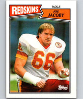 1987 Topps #72 Joe Jacoby Redskins NFL Football